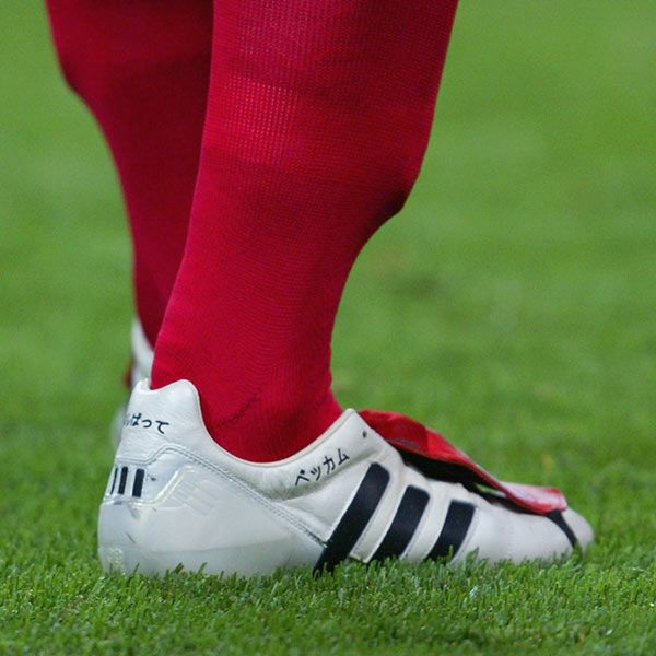 size 40 fe0f5 42c6f David Beckham s Career in Football Boots - SoccerBible