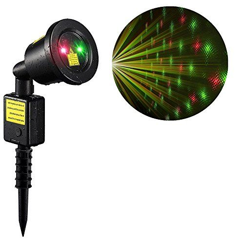Outdoor Laser Lights Ihoven Waterproof Projection Light Red And Green Xmas Light Show Lights Projector Laser Landscape Spo Light Project Laser Lights Light Red