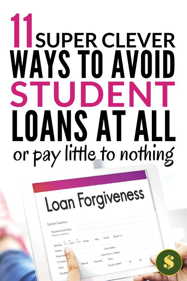 How To Not Have Student Loans Or Just A Little Of Them