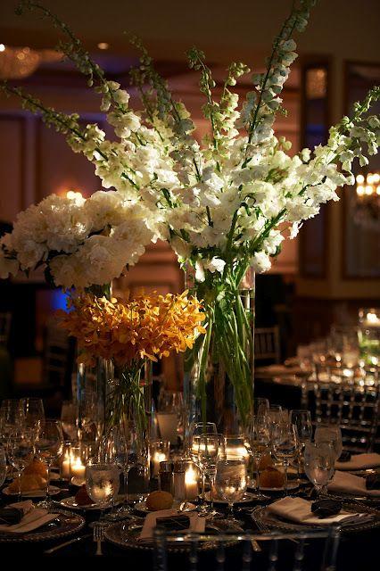 Tall Vase Wedding Centerpieces