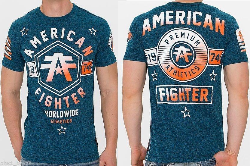 American Fighter AFFLICTION Mens T-Shirt JACKSONVILLE Biker GYM UFC S-3XL $36 b #Affliction #GraphicTee