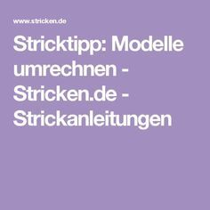 Photo of Knitting tip: Convert models – Knitting.eu – knitting patterns