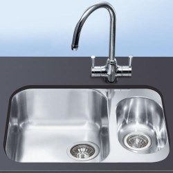 Smeg UM3416-1 Alba Undermounted Sink Combination   Sinks   Pinterest ...
