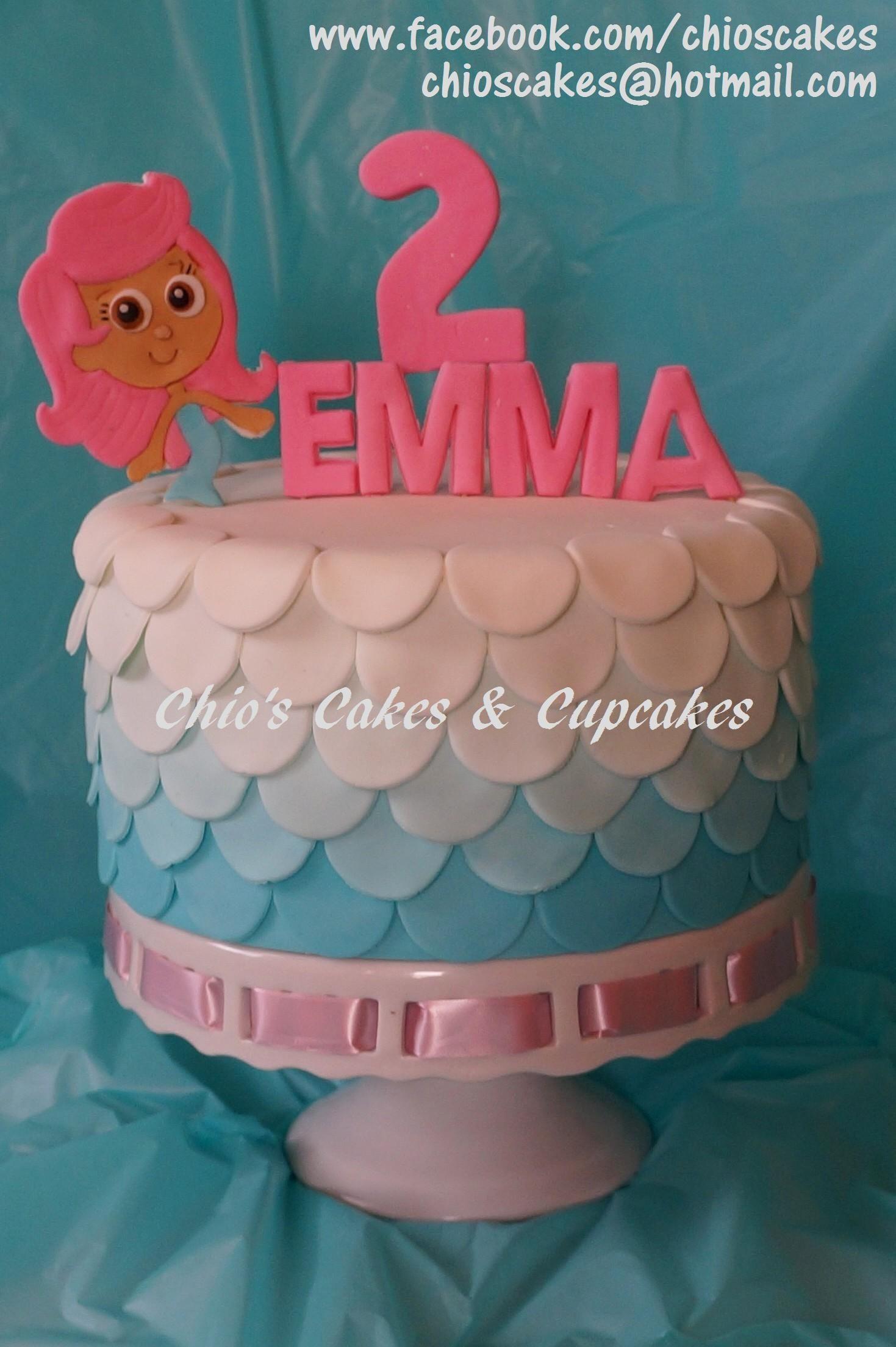 Bubble Guppies (Molly) Cake. Follow me: www.facebook.com/chioscakes ...