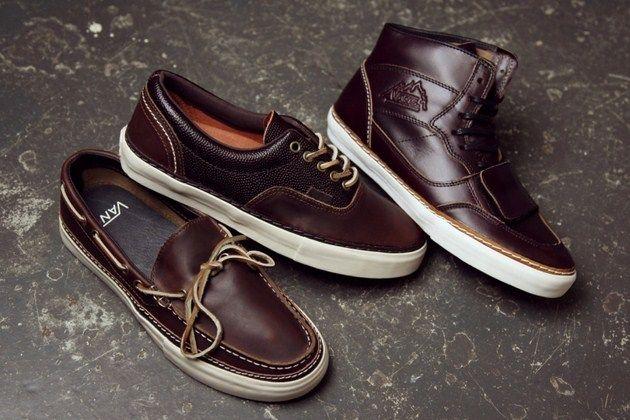 5fe3cdd965 Kolekcja Vans x Horween Leather - Era