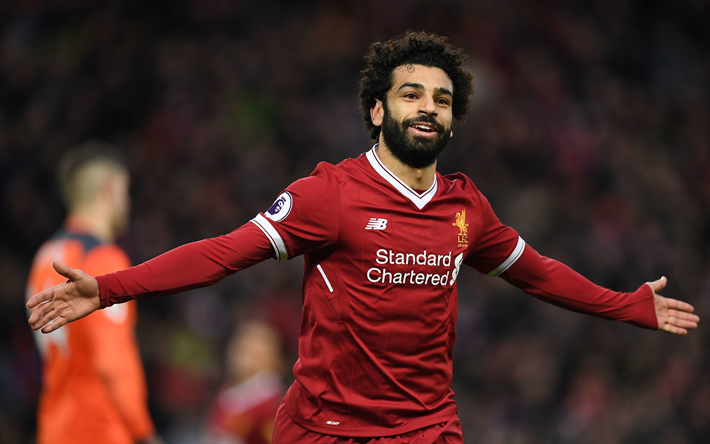 Mohamed Salah Celebration Liverpool Football Player Poster Great format A0