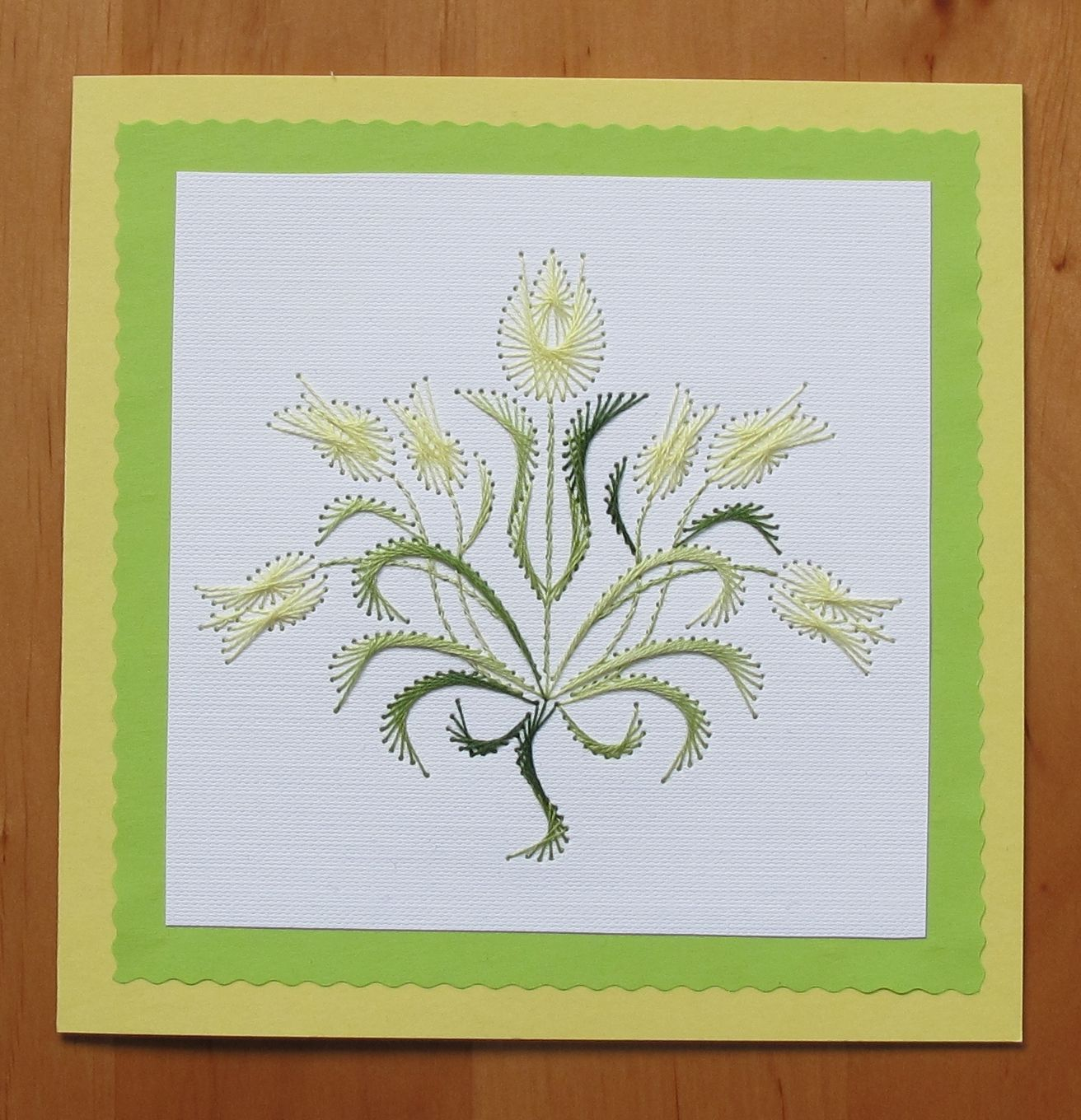 Pin by anna pilarska on my stiching cards pinterest sewing cards card card embroidery stitches paper embroidery paper cards hand stitching greeting cards cardmaking diy string art kristyandbryce Image collections