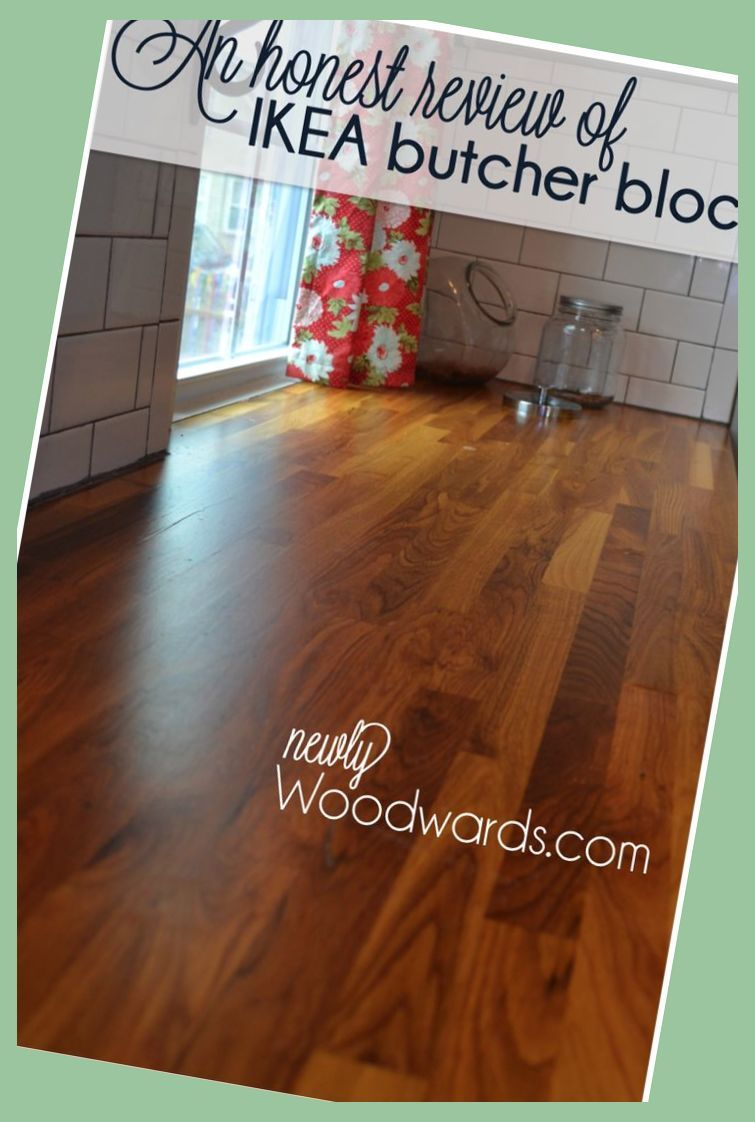 How To Seal Oak Wood >> A review IKEA butcher block
