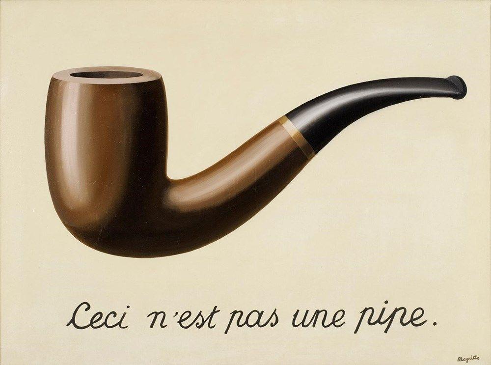 La Trahison des Images (Ceci n'est pas une pipe), 1927