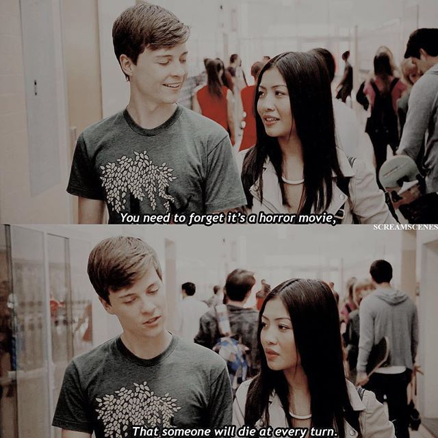 —[ 1.01 ] THEY WERE S O CUTE :(((( #scream #mtvscream
