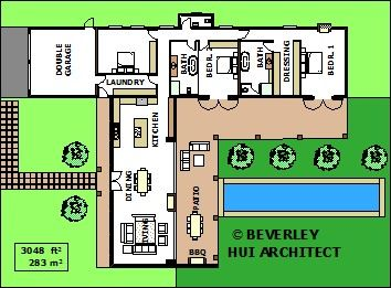 TSHAPED HOUSE PLANS ARCHITECT DESIGNED HOUSE PLANS SA Floor
