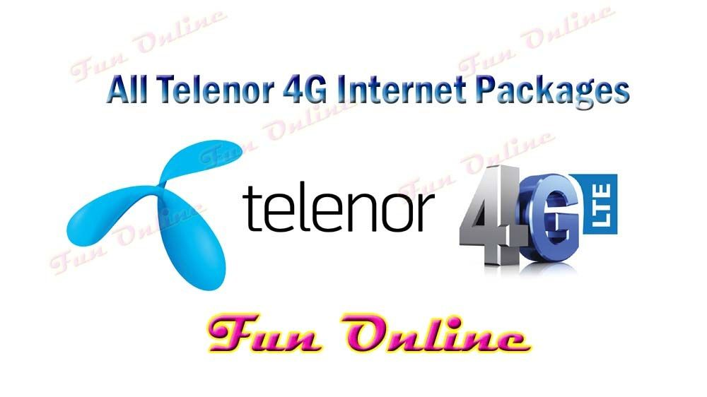 Telenor 3g Internet Packages 4g Daily Weekly Monthly Codes Fun Online Live Drama Education News Tv Shows Fashion Sports Internet Packages 3g Internet 4g Internet