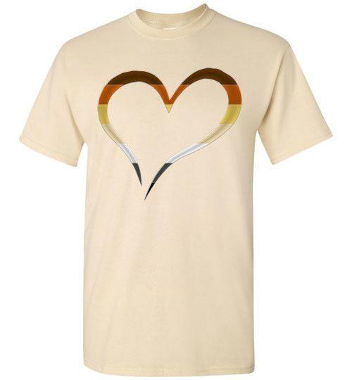 Bear Pride Heart T-Shirt