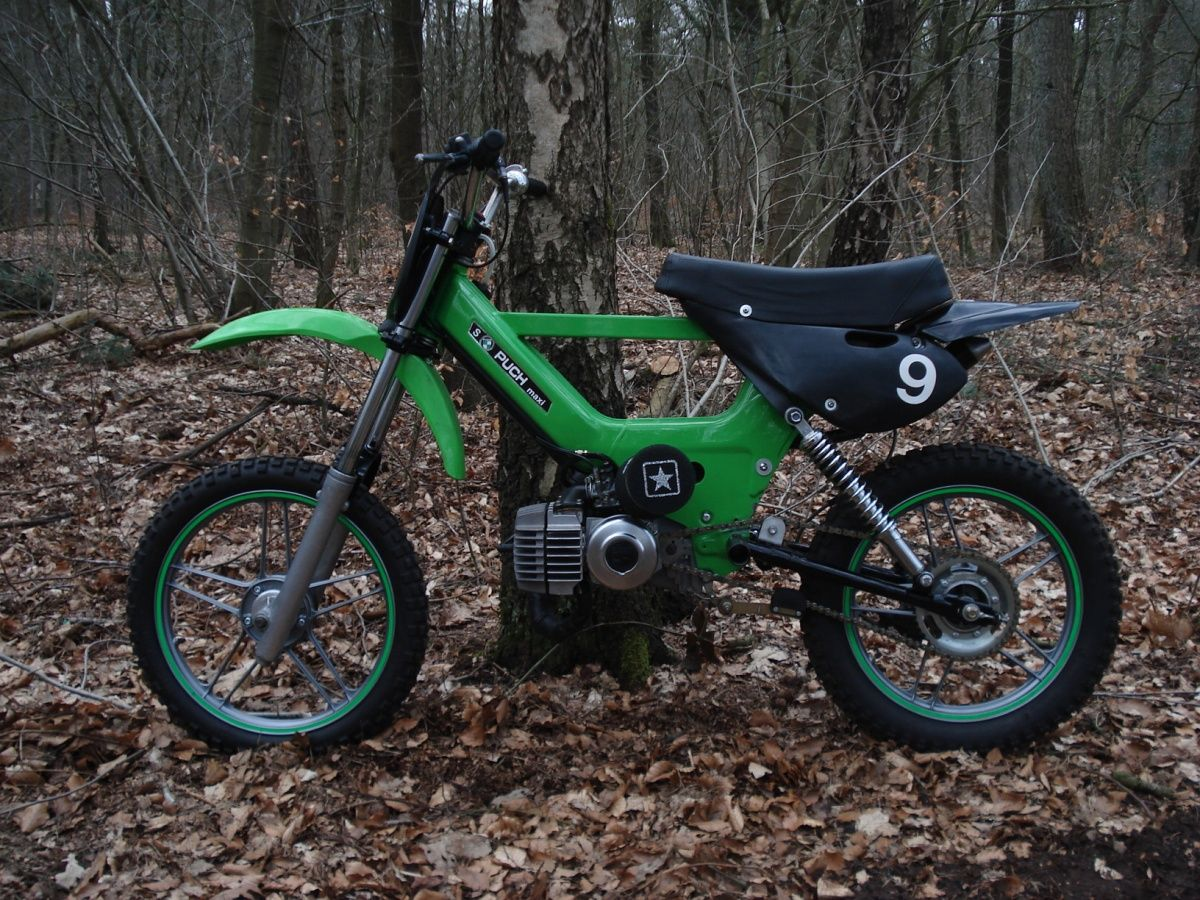 off road puch maxi dirt ped | 2 wheels + 2 strokes | Offroad