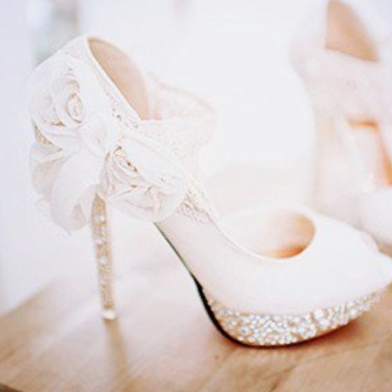 Ok, which of my brides is going to wear these shoes so I can live vicariously through you?  LOVE!