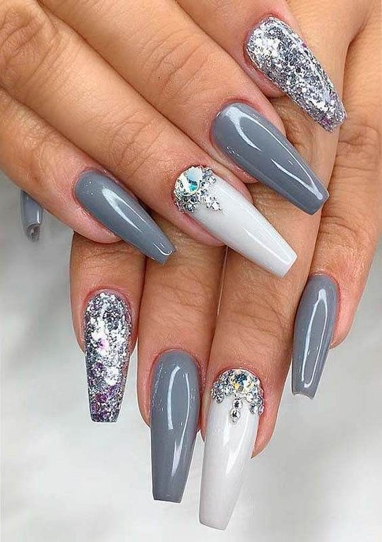 22+ Nice Long Nails For Your Nail-Changing Inspiration | Nails ...