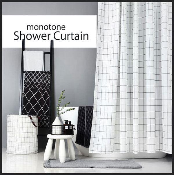 楽天市場 シャワーカーテン バスシャワーカーテン 浴槽カーテン