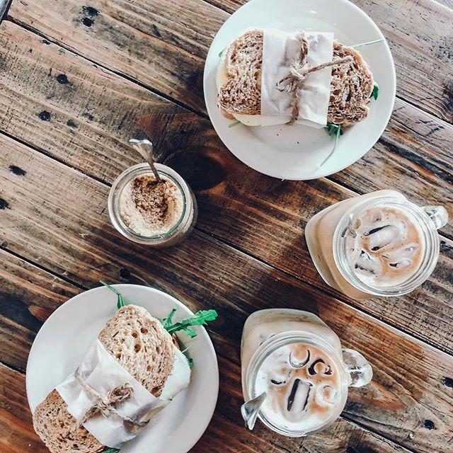 Breakfast Georgetown Penang Avocado Bread Iced Coffee