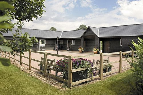 Bespoke Timber Stables from Scotts of Thrapston.