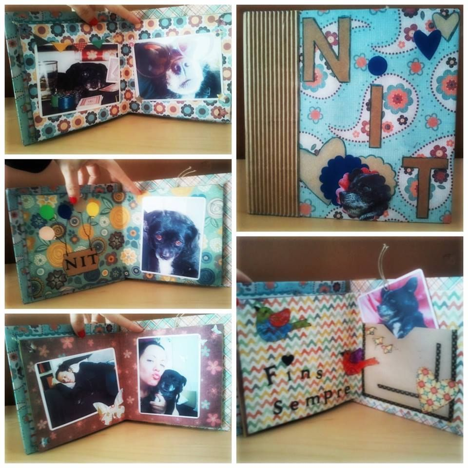 Scrapbooking y perros diy perros pinterest ideas - Como hacer un album de fotos ...