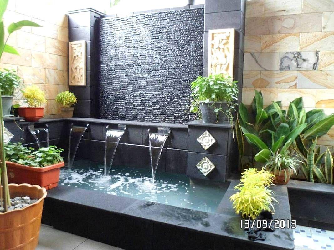 reka bentuk hiasan dalaman teres interior designing service providers Kolam Ikan Minimalis