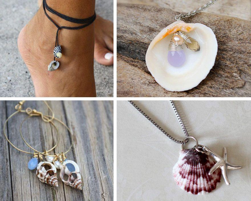 oltre 20 migliori idee su conchiglie marine su pinterest ... - Conchiglie Per Decorazioni