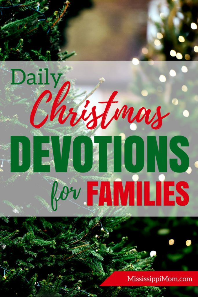 25 Daily Christmas Devotions for the Month of December