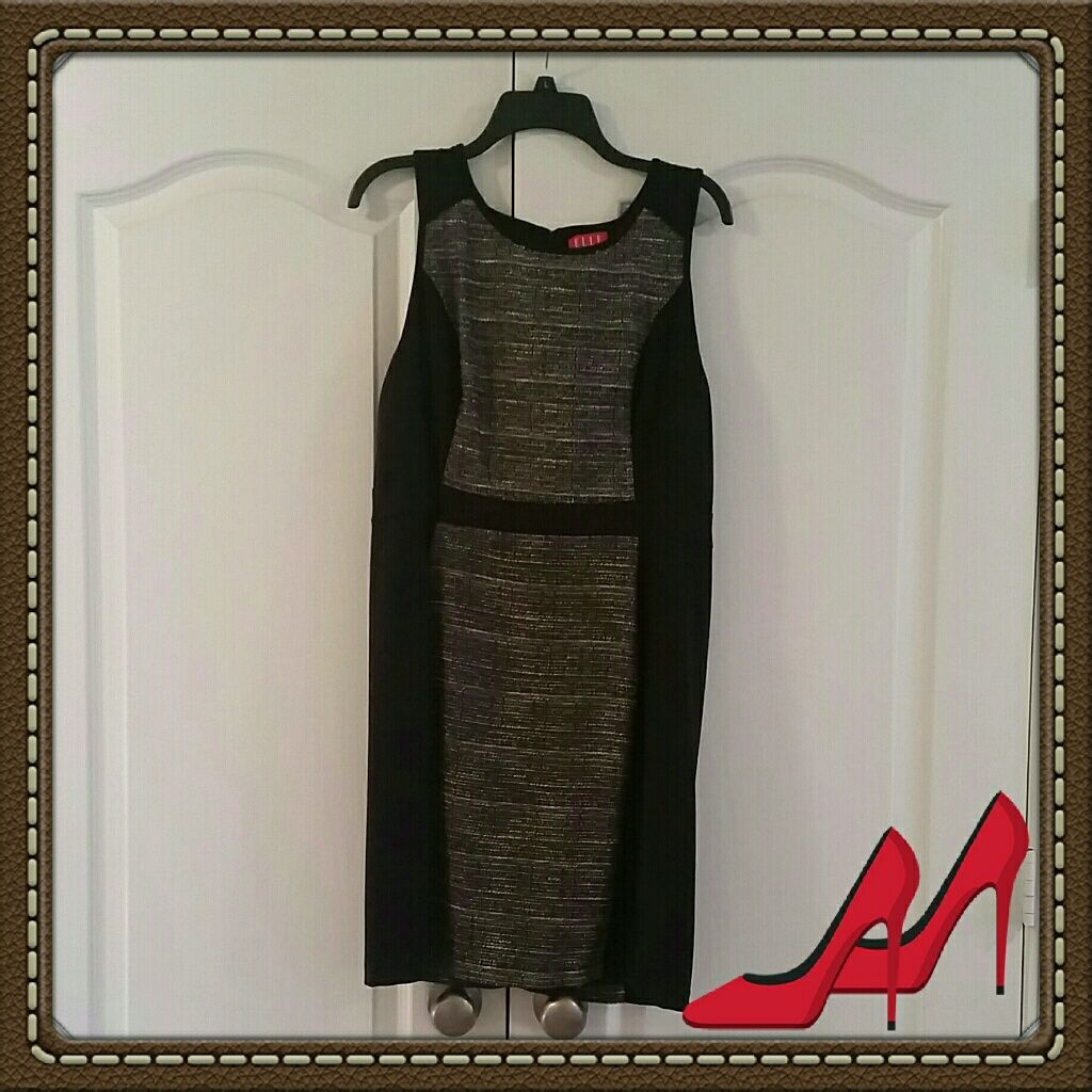 Elle color block dress euc block dress and products