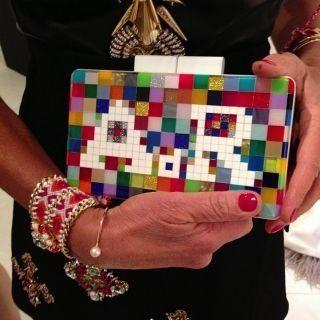 Such a cool clutch purse!!
