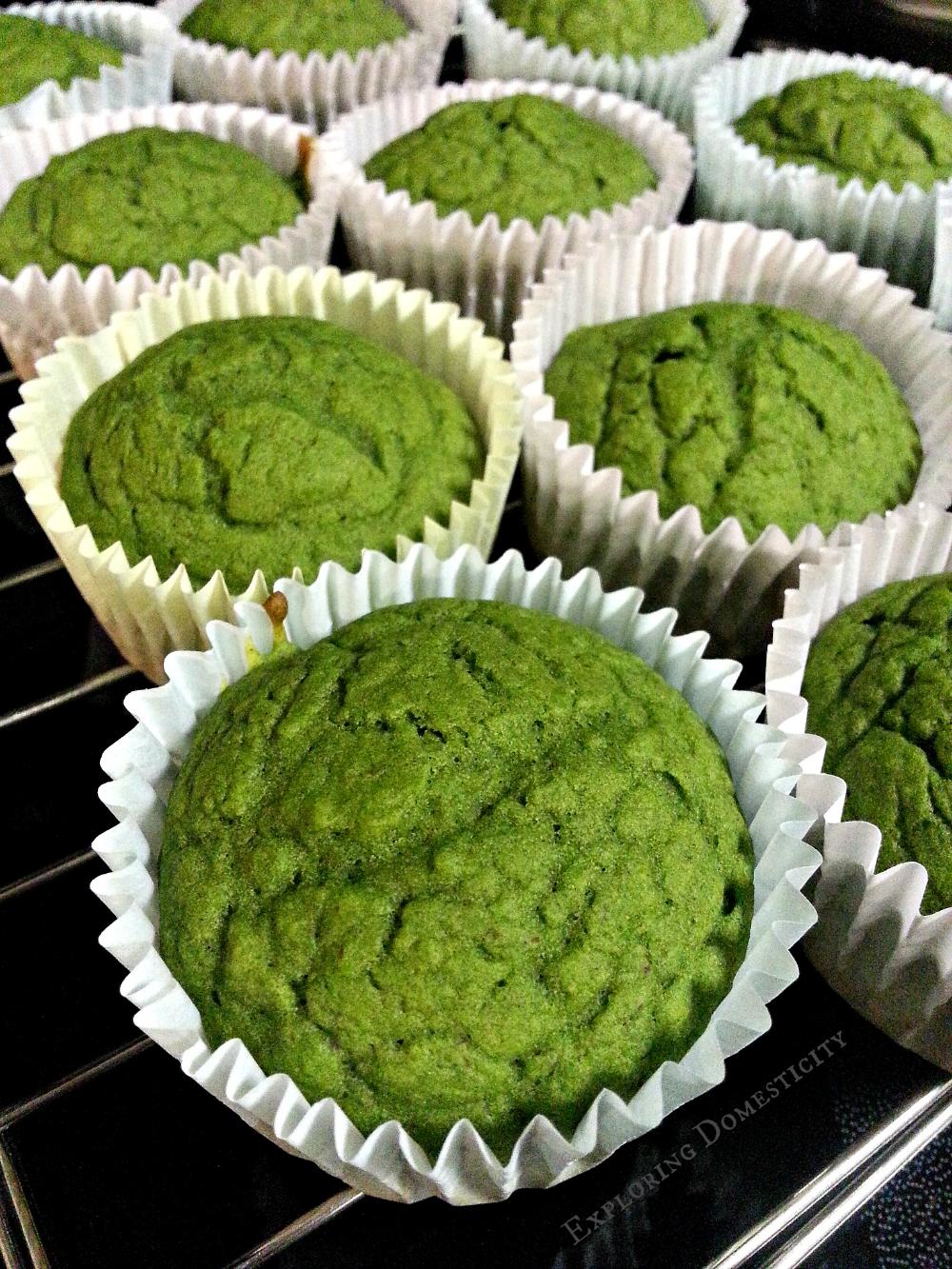 Healthy Spinach Hulk Muffins