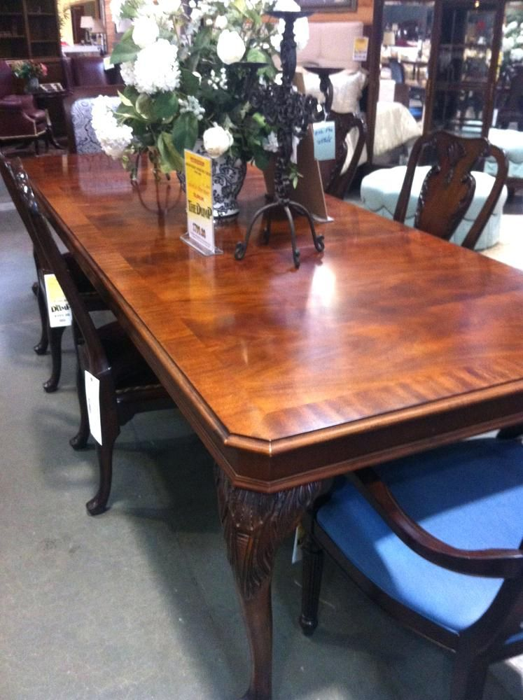 Henredon Dining Table Used Dining Room Furniture Tropical