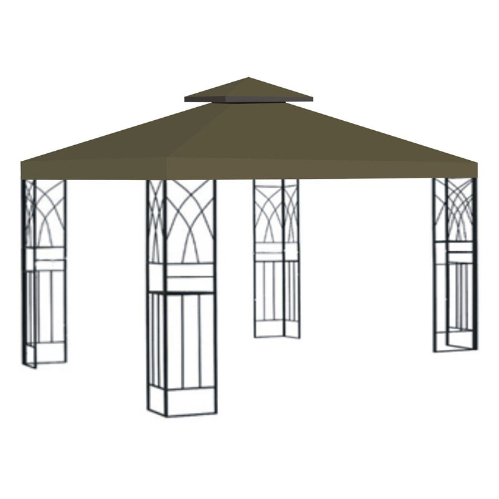 Sunrise 10 X 10 Ft Gazebo Replacement Double Tier Canopy Cover Gazebo Replacement Canopy Gazebo
