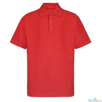 Bright #Red #Polo #Shirt.