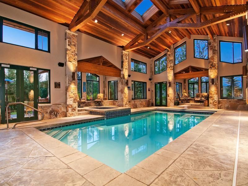 Indoor Pool Coverings Design Home Luxury Mansion Rich Money Architecture Dream Home House Dream House Luxurious Hou Mansions Luxury House Design Luxury Homes