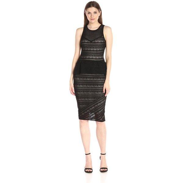 Calf Length Dresses for Women Black Sweater