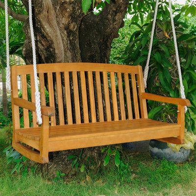 نتيجة بحث الصور عن Beachcrest Home Bristol hanging Porch Swing
