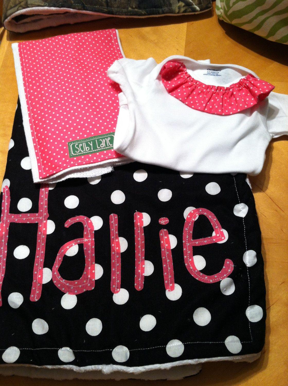 Baby girl gift set 5000 via etsy baby girl gift