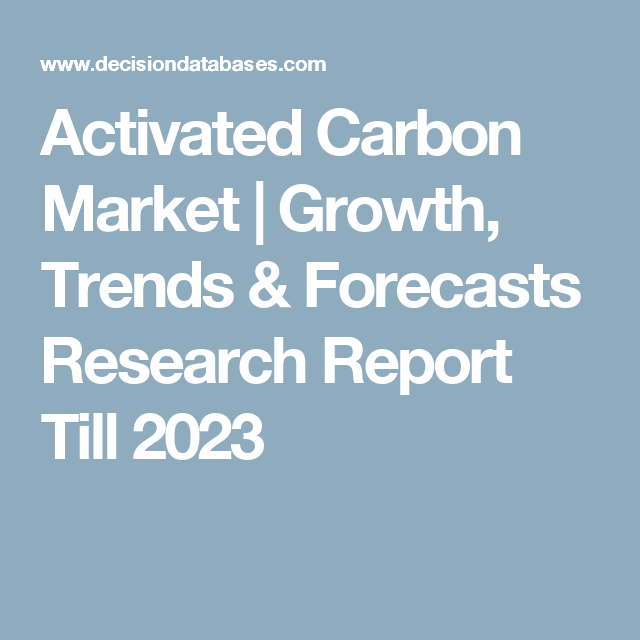 Activated Carbon Market  Growth Trends  Forecasts Research