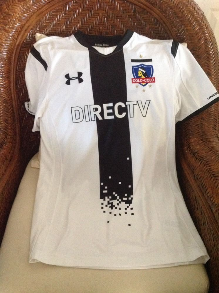 04d13704c0e Chile Colo colo under armour soccer futbol Jersey nwt Size Medium mens in  Sports Mem