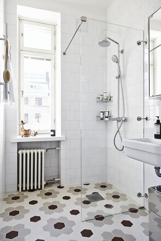 leuke badkamervloer | wonen | Pinterest - Badkamer, Tegels en ...