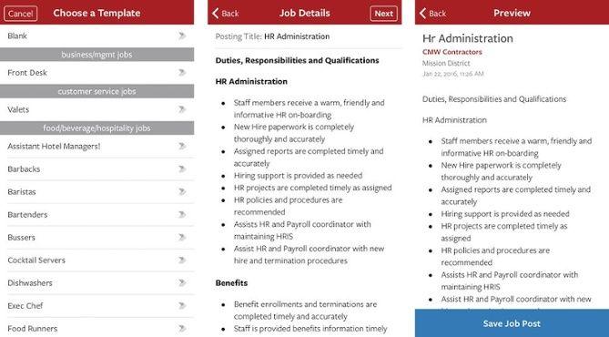 Mobile Recruiting The Proven Employer Hiring App Recruitment Job Seeker App