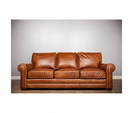 Harrington Leather Sofa Cognac Made By The Harrington Collection