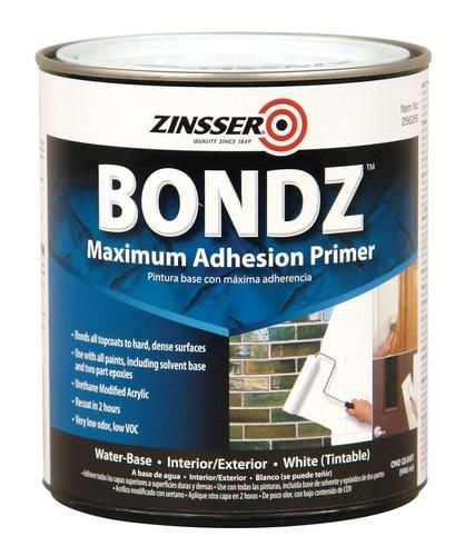 Bondz Max Adhesion Primer At Menards Water Based Primer Exterior Primer Fleet Farm