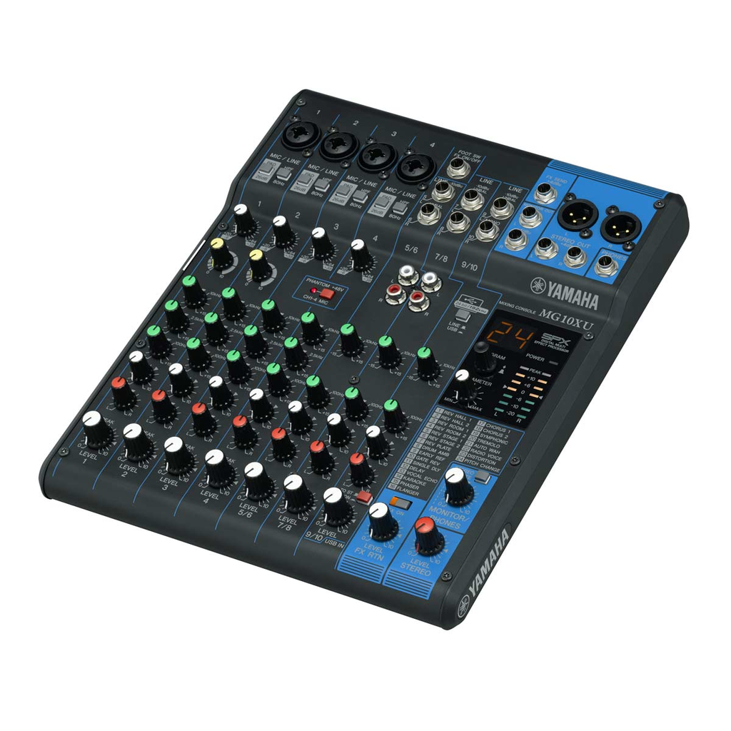 Yamaha Mg10xu Analog Mixer With Usb Output Mixers And Products Inhale Style Mosquito Killer Lamp Electric Circuit