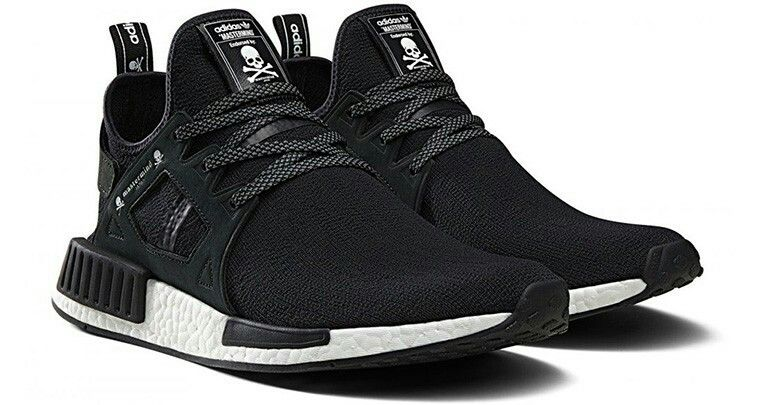 Two lifestyle giants collaborate with the mastermind Japan adidas NMD and  the upcoming black leather Tubular Instinct. Release details coming soon.