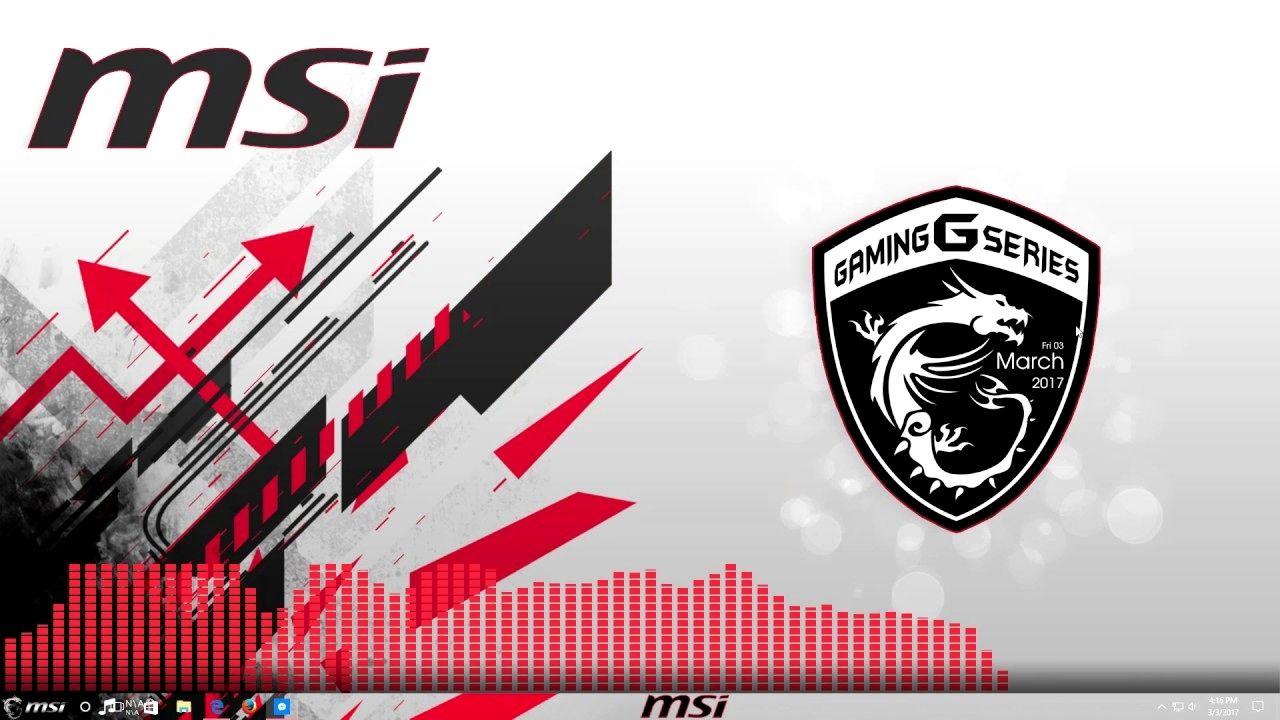 Msi Logo Dragon 4k Wallpaper Pc Msi Fond Ecran Deco