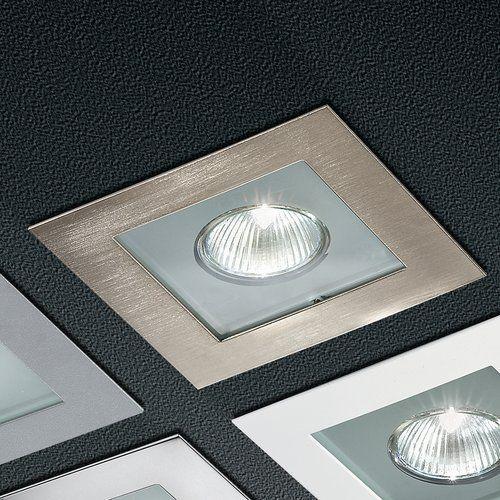 Incas 13cm Recessed Retrofit Downlight Linea Light Finish Brushed Nickel Recessed Lighting Kits Downlights Adjustable Lighting