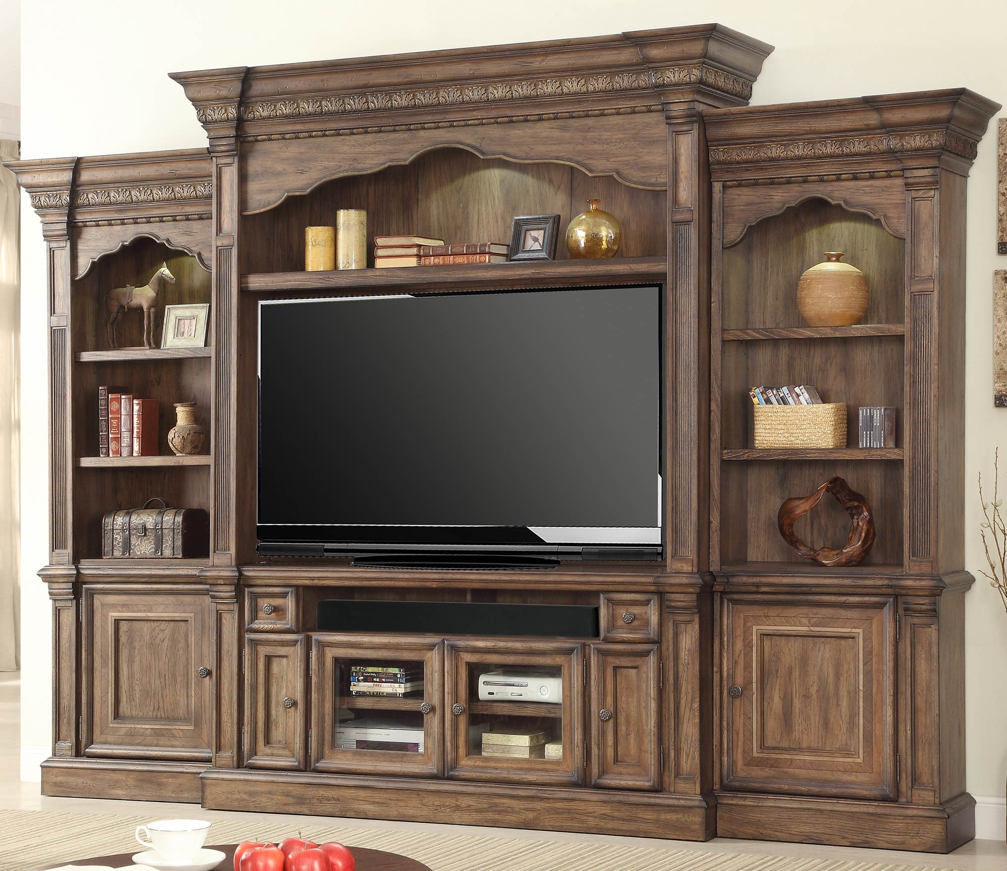 Aria Entertainment Wall By Parker House  Home Gallery Stores