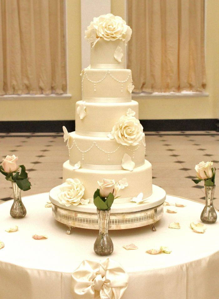 36 Wedding Cake Ideas with Luxurious Details | Wedding cake, Floral ...