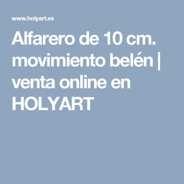 Alfarero de 10 cm. movimiento belén | venta online en HOLYART
